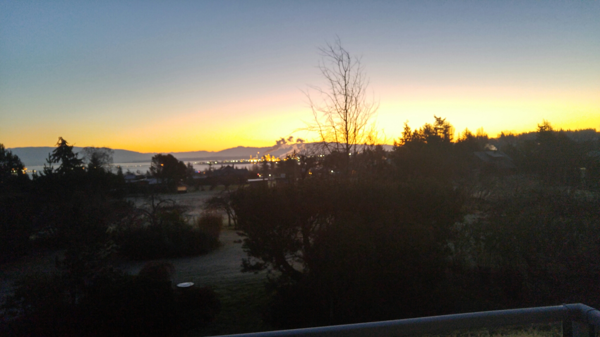 Cascade Mountains Sunrise